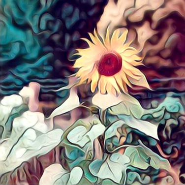 Whimsical Sunflower