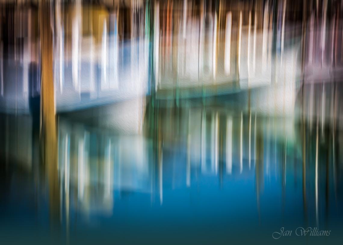 Sail Boat Reflections-s